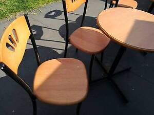 FREE Small round TABLE & CHAIRS 2 sets available) St Marys Penrith Area Preview