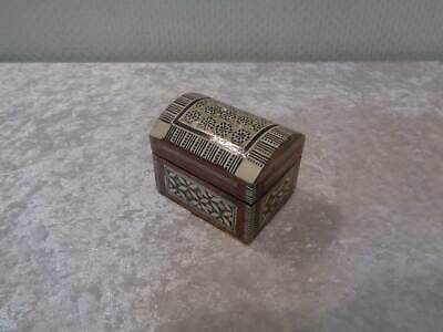 Wood Casket - Jewellery Box - Persia - Khatam Design