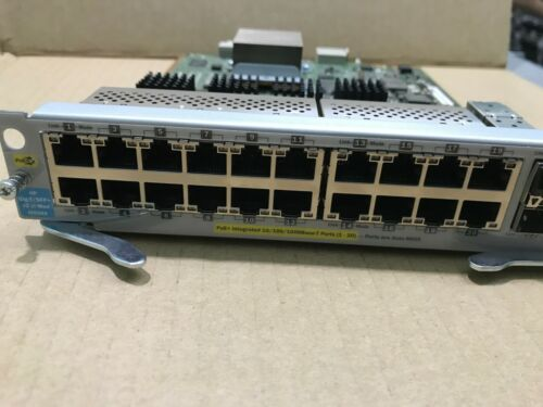 HP ProCurve J9536A 20-port Gig-T PoE+ 2-port 10GbE SFP+ Module 90 days warranty