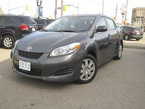 2012 TOYOTA MATRIX L HATCHBACK | Very Low KMS!!!!