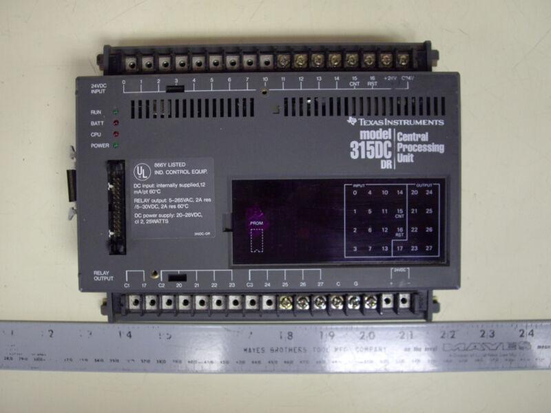 Texas Instruments 315DC-DR Processor