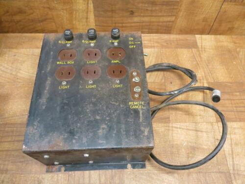 AMI D80 Jukebox Power Supply /Distribution /Junction Box