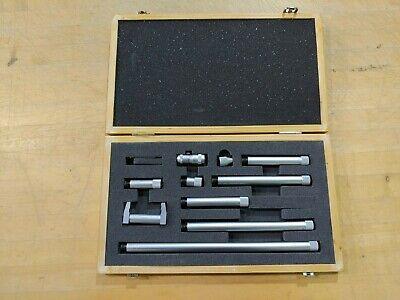 Fowler 50-100 Millimeter Inside Tubeular Micrometer 0.01 Millimeter Resolution