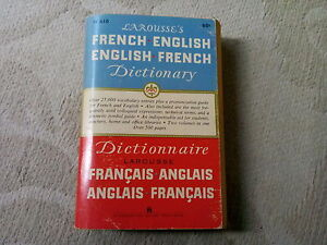 Larousse's French/English & English/French Dictionary Cambridge Kitchener Area image 1