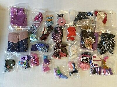 BARBIE Huge Lot Of Clothing, Shoes & Accessories