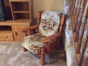 Couch, chairs and end tables