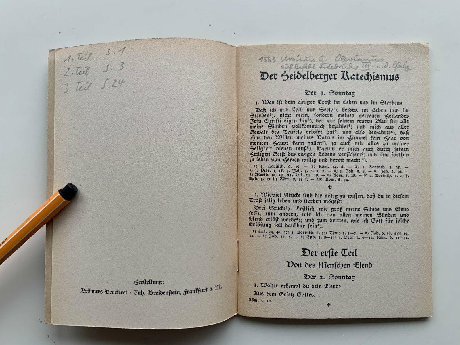Katechismus Evangelisch