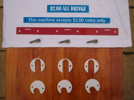 RP Vending Machine $2 Dollar Coin Conversion Kit (Unjammable) Melton Melton Area Preview