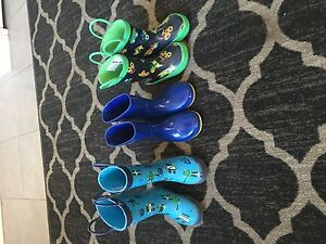 Toddler Rain Boots - Size 5 - one pair Size 6