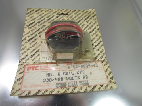 NEW Stearns Coil Kit, No. 6, 230/460 volts AC, part# 5-66-6609-33
