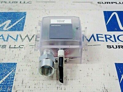 New Siemens Qbm3100u025u Differential Pressure Sensor