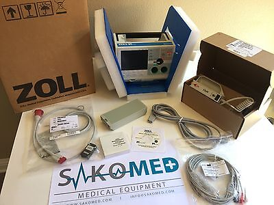 Zoll M Series Biphasic 3lead Pacing Aed -fr Demo Units