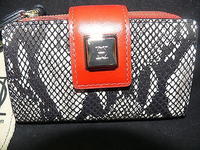 OH by Olivia Harris 81340 Wallet Black Red Snake by Joy Gryson Smartphone Holder