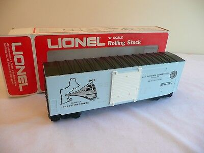 Lionel 9611 TCA 1978 Flying Yankee Boxcar