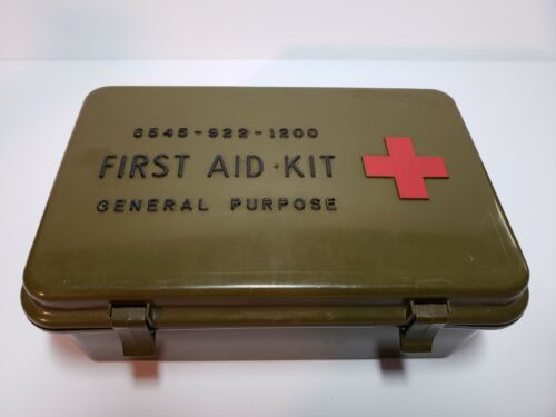 Military Medical First Aid Kit General Purpose 6545-00-922-1200