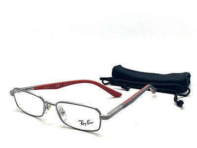 Ray Ban Eyeglasses Eye Glasses Frames Rb 1035 4008 45-15-125 Red Grey