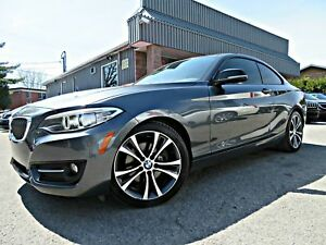 BMW 2  Series 228i 2014 coupé 2 portes PA Automatique air mags t