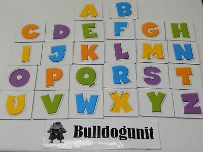 (2006 Dora The Explorer ABC Board Game Replacement All 26 Picture Letter Tiles)