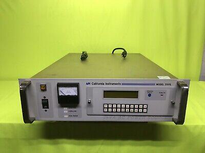 California Instruments Model 2001l 2kva Ac Power Source