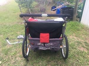 Chariot cx2, graco stroller, wagon with skies for winter
