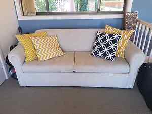 Sofa and fold out bed Lilli Pilli Sutherland Area Preview