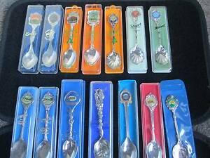 Collectable Spoons South Australian Collection Qty 13 Woodcroft Morphett Vale Area Preview