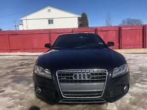 2011 Audi A5 S Line Coupe AWD    Leather   Sunroof  