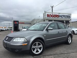 2004 Volkswagen Passat GLX - 5SPD - LEATHER - SUNROOF