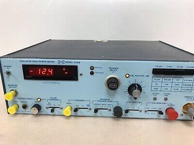 Wavetek 1018b Loglin Rf Peak Power Meter Pm