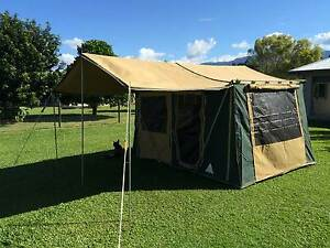 Australian made Southern Cross Canvas Tent Mossman Cairns Surrounds Preview