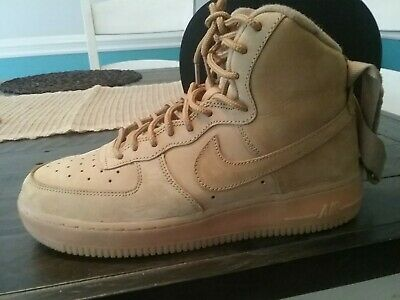 🔥🛫Air Force 1 High Wheat Boys Size - Boys Air Forces
