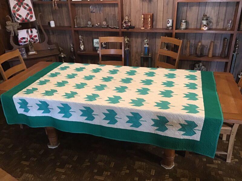 Vintage Quilt...Maple Leaf