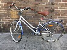 Impeccable White and Mauve Bike, Small 13#. Annandale Annandale Leichhardt Area Preview