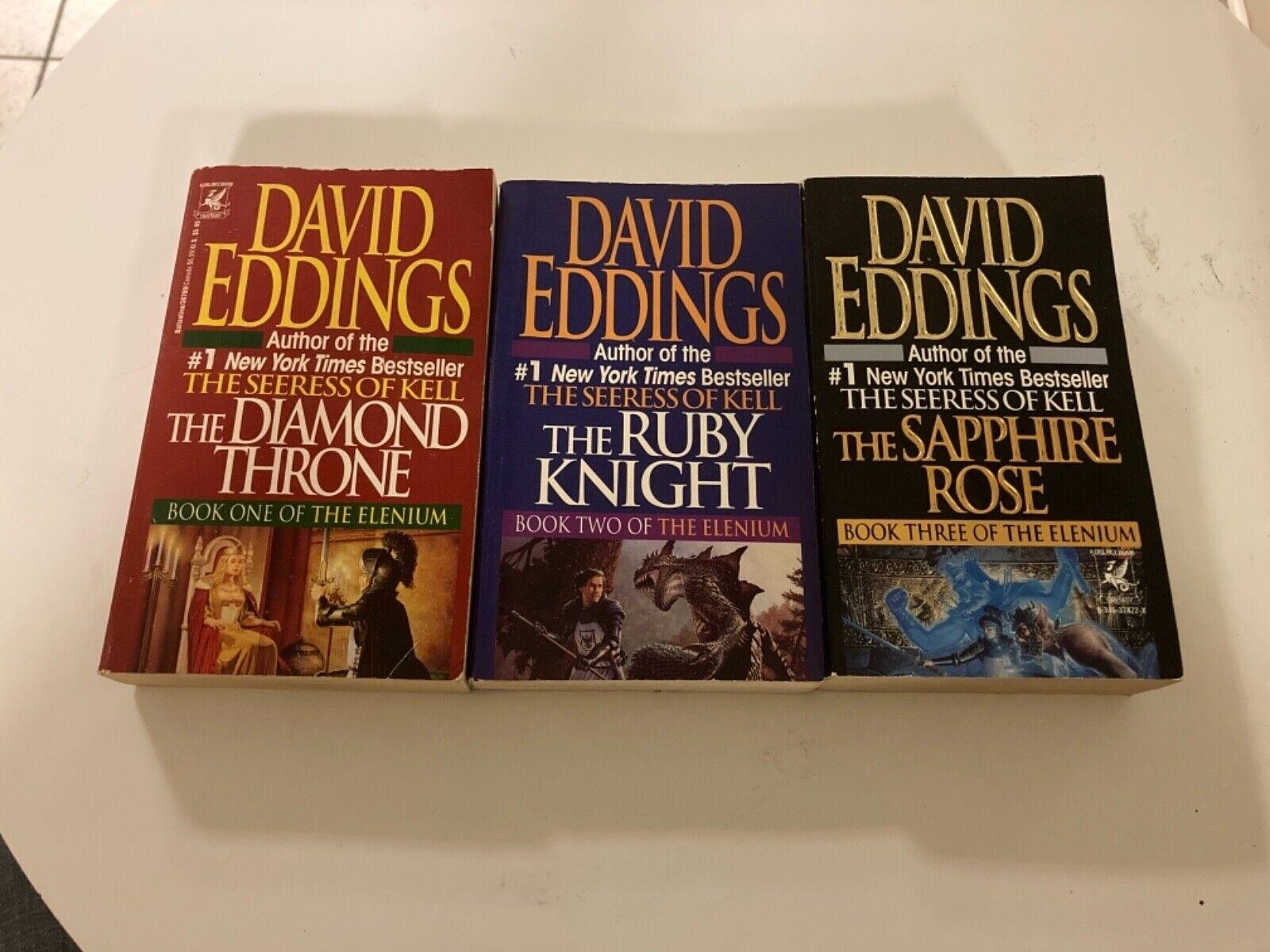 The Elenium Trilogy - Novels By David Eddings - Paperback Set - $11.99