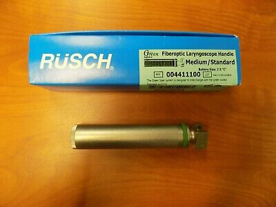 Rusch Green Spec Fiber Optic Laryngoscope Handle - Medium