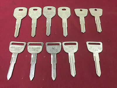 Honda By Ilco Curtis Esp Automotive Key Blanks Set Of 11 - Locksmith