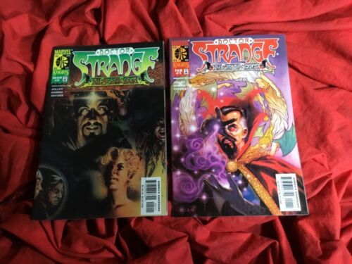DOCTOR STRANGE~FLIGHT OF BONES #1 #2~TWO BOOK SET~TONY HARRIS ART~MULTIVERSE~D