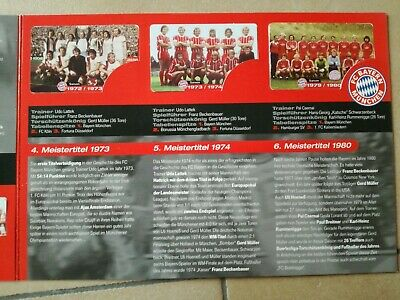 TK Telefonkarten Phonecard Telekom folder set of 6x3€ FC Bayern München