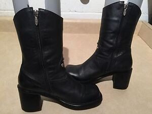 Women's Harley Davidson Leather Boots Size 6.5 London Ontario image 2