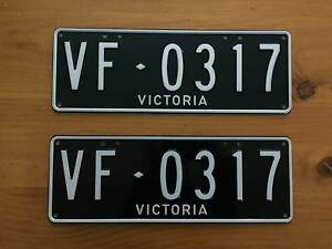 HSV Clubsport Maloo Number Plates VF0317 Langwarrin South Frankston Area Preview