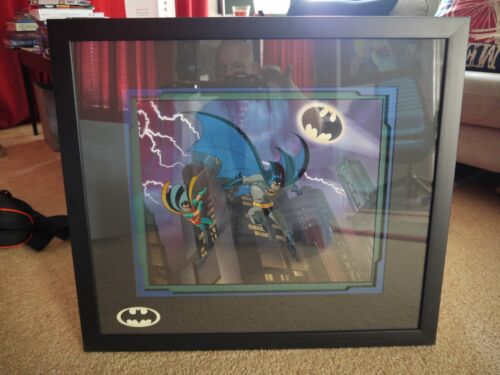 "Batman Animated Series ""The Dynamic Duo"" limited edition cel"