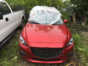 2017 / 2016 Mazda 3 parting out
