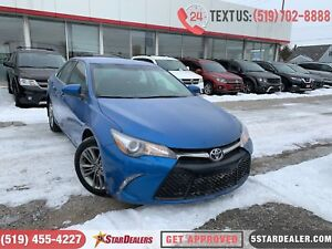 2017 Toyota Camry SE | CAM | HEATED SEATS | SPORT/CLOTH SEATS
