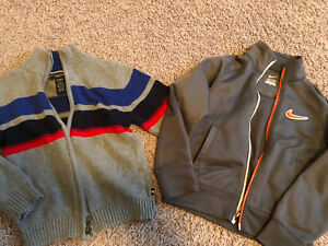 Boys size 5 sweaters