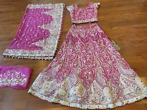 Pakistani  dress, indian dress - Bridal Lengha / lehenga
