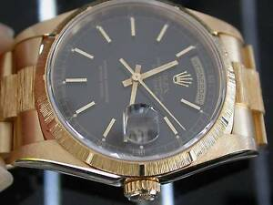 FS- Rolex 18248 Bark President18K Yellow gold- South Yarra Stonnington Area Preview