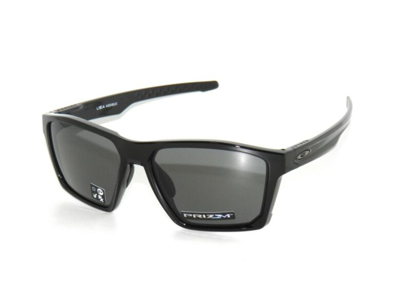 c7882e0cf OAKLEY SUNGLASSES TARGETLINE 9397-01 POLISHED BLACK/PRIZM GRAY ...