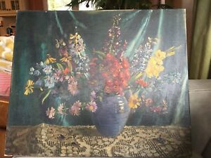 1939 Allan Barr Still Life Painting - REDUCED PRICE! GREAT DEAL