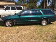 Ford Futura 1999-00 Model Green Quakers Hill Blacktown Area Preview