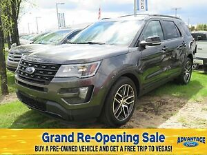 2016 Ford Explorer Sport Moonroof. EcoBoost. Trailer Tow.